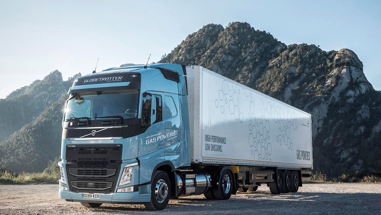 Volvo FH LNG ha vinto il premio Sustainable Truck of the Year 2018