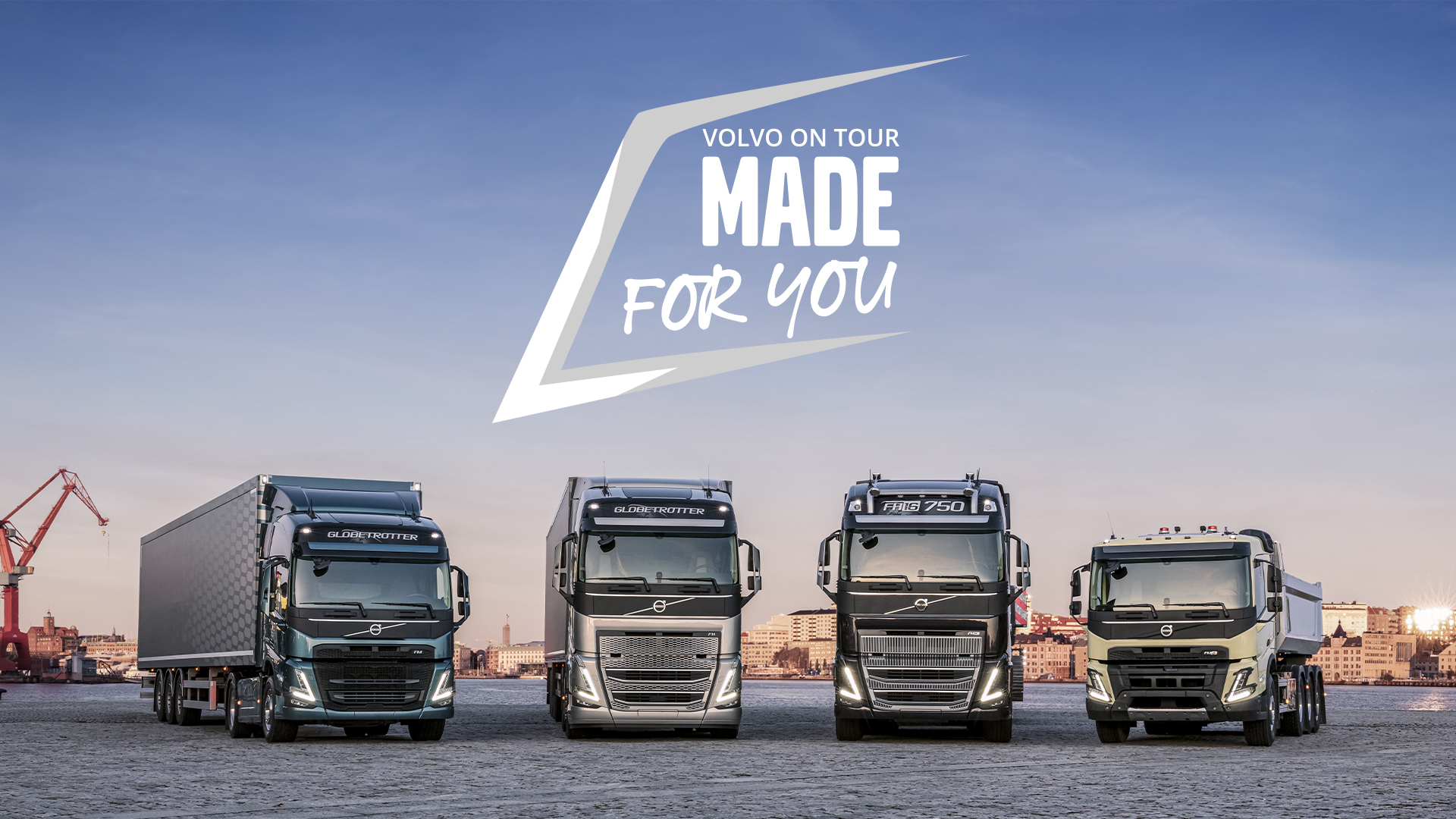 Al via il Made For You Volvo On Tour