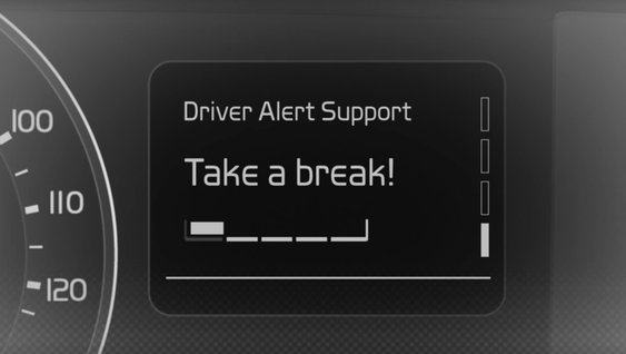 Video che illustra i vantaggi del sistema DAS (Driver Alert Support, Allerta al conducente)