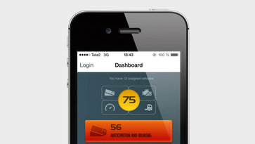 App Dynafleet Fuel and Environment di Volvo Trucks