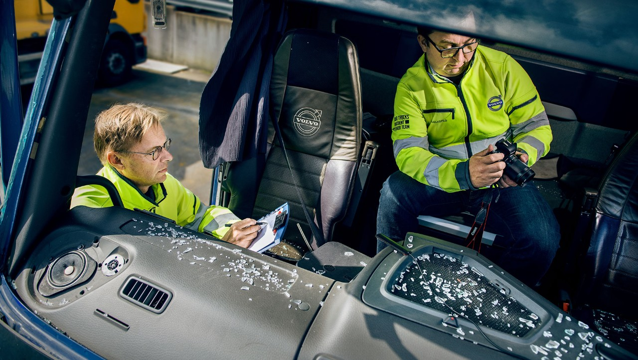 Il Team Accident Research di Volvo Trucks